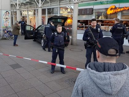Car plows into crowd, driver shot by police in Heidelberg, Germany