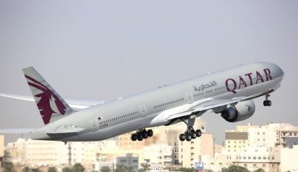 "Qatar Airways takes ""Platinum Planet Prize"" for longest route in world"