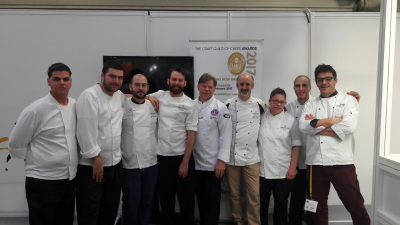 The Corinthia Palace Hotel & Spa's chefs excel at the International Salon Culinaire