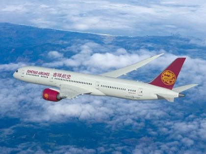 Boeing, Juneyao Airlines finalize order for five 787-9 Dreamliners