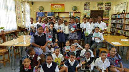 "Korea Ambassador Dho revisits UN ""Thank You Small Libraries"" in South Africa"