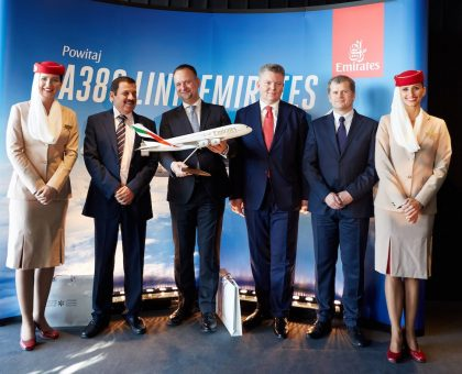 Emirates Marks Four Years of Operations to Poland