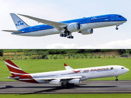Air Mauritius: Amsterdam flights with KLM