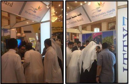 Seychelles islands showcased at Jeddah International Travel & Tourism 2017