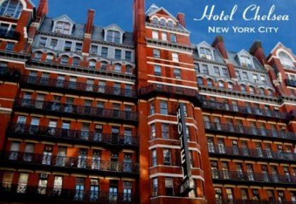 Hotel history 1884: Chelsea Hotel in Manhattan