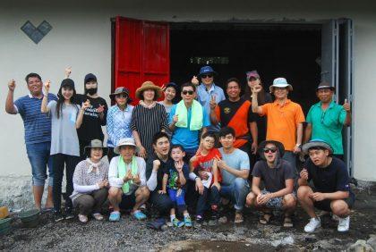 Korean Air's volunteer group heads to Tondano