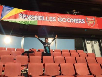 Seychelles at the Emirates Arsenal Football Club