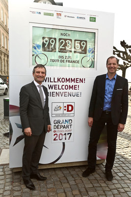 Bonjour le Tour: Düsseldorf prepares for Tour de France
