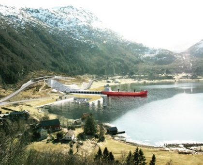 Norway to build world's first full-size ship tunnel