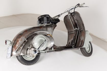World's oldest Vespa is up for auction