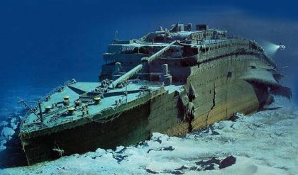 $105K burning hole in your pocket? How about Titanic wreck dive tour?