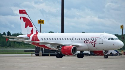 Budapest Airport doubles flights with Air Canada rouge