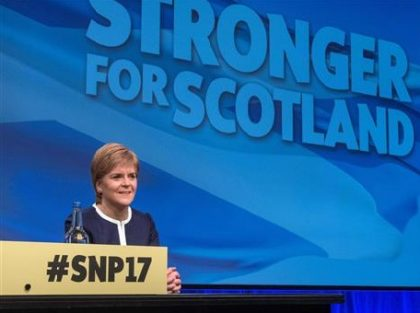 Sturgeon warns May: People of Scotland will not be denied their say
