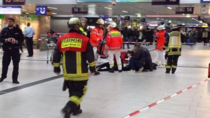 Several people wounded in ax attack at Düsseldorf train station