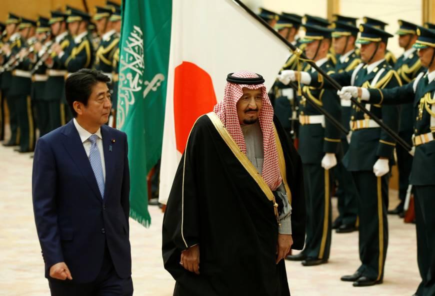 10 planes, 500 limos, 1200 hotel rooms – Saudi king's visit leaves Japan in awe