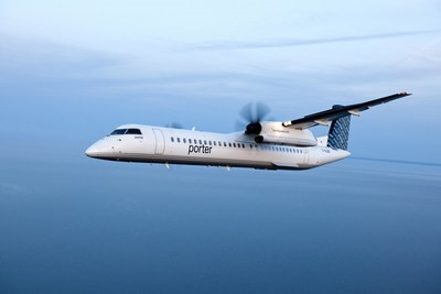 Bombardier Q400 aircraft continues to support Porter Airlines' growth