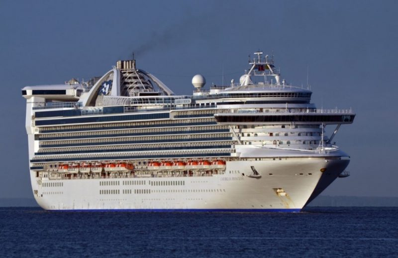 Princess Cruises: Largest food & beverage innovation ever to take place during a drydock