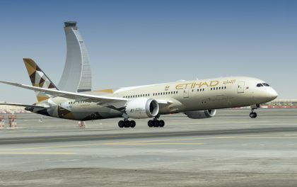 Etihad Airways continues sustainable drive