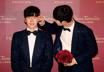 Korean celebrity Park Hae-jin unveiled at Madame Tussauds Hong Kong