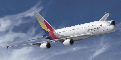 Asiana Airlines updates service for summer