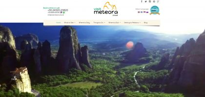 Visitmeteora.travel: Our domain is our brand identity, and we are satisfied with .travel