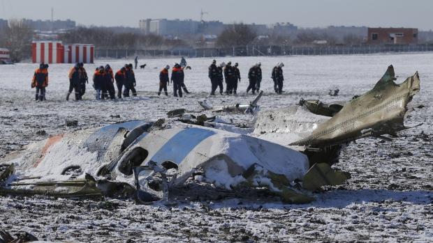 Memorial held: flydubai air crash in Russia
