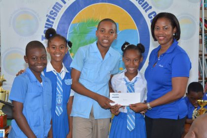 """Spring Gardens Primary wins """"Fi Wi Falmouth"""" Tourism Quiz title"""