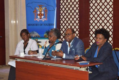 Jamaica Tourism Minister discusses Tourism Workers' Pension Scheme