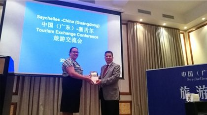 Guangdong (China) and Seychelles discuss tourism partnership