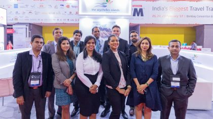 Outbound Travel Mart 2017 in India – a successful one for Seychelles