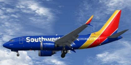 Southwest Airlines to being 737MAX8 service