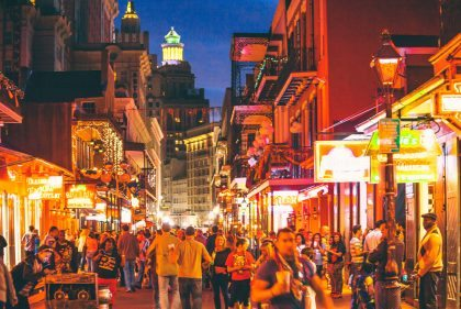 New Orleans brakes tourism records in 2016