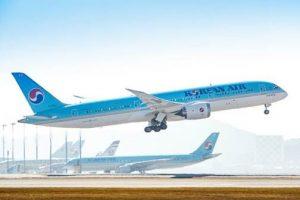 Korean Air's Dreamliner flies internationally