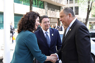 Luis Guillermo Solís Rivera, New Special Ambassador of the IY (Madrid, Spain, 8 May 2017)
