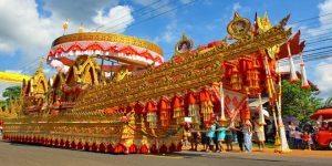 Thailand Tourism: Spectacular Bung Fai Skyrocket Festival in Kalasin