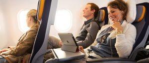 Lufthansa and Austrian Airlines: Internet on short and medium length flights