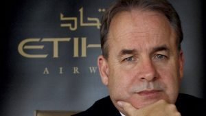 Who will lead Etihad Aviation Group after James Hogan? Ray Gammell  appointed interim  CEO