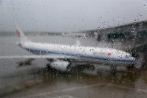 Heavy rain cancels 470 flights at Beijing International Airport