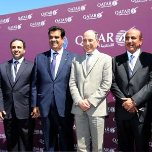 Qatar Airways showcases Qsuite on opening day of Paris Air Show 2017