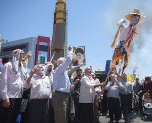 """Iran celebrates Quds Day with """"millions"""" chanting """"Death to Israel, death to America and UK!"""""""