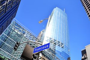 Tallest building in the West opens to great fanfare