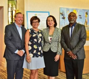 Affonso-Dass elected as president Caribbean Hotel and Tourism Association (CHTA).