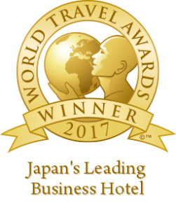 The World Travel Award goes to ANA Intercontinental Tokyo