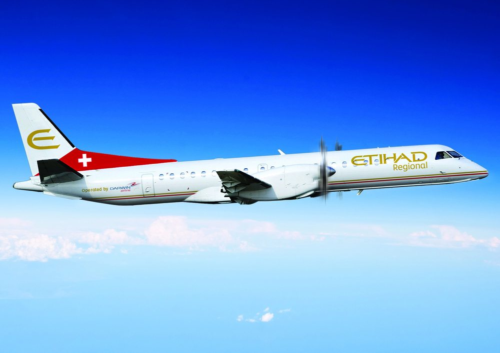 Etihad Regional by Switzerland based Darwin Airlines under new ownership