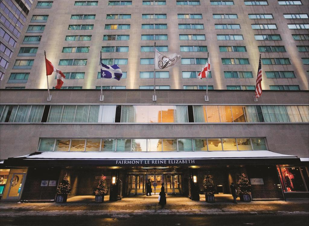 Montreal's Fairmont The Queen Elizabeth hotel reopens