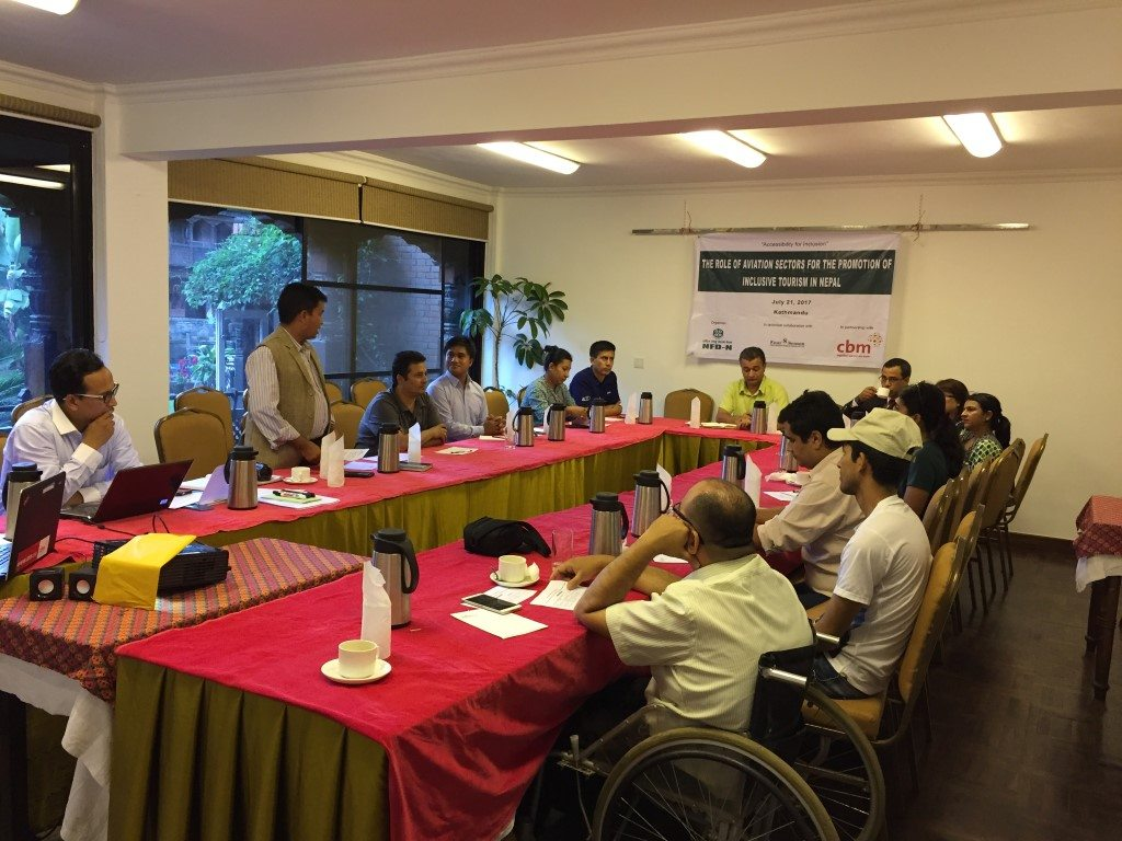 Role of Aviation Sectors for the Promotion of Inclusive Tourism in Nepal