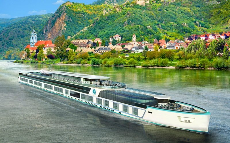 Crystal Bach joins Crystal River Cruises fleet