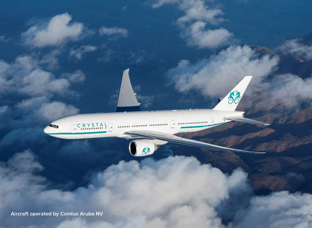 Crystal Skye joins Crystal AirCruises fleet