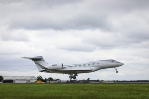 Fully outfitted Gulfstream G600 test aircraft completes first flight