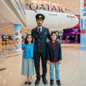 International Youth Day takes off with Qatar Airways